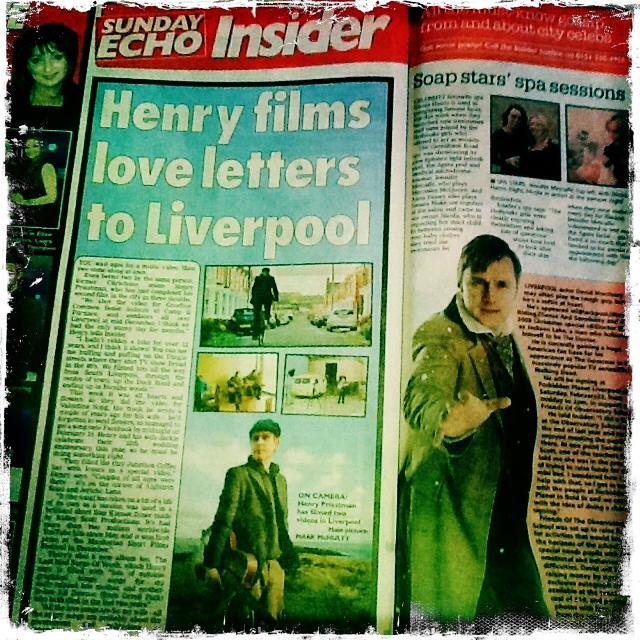 16/02/14 update…Liverpool Sunday Echo piece, re videos