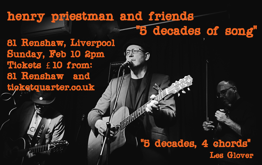 "Liverpool - ""5 Decades of Song"" @ 81 Renshaw Street | England | United Kingdom"