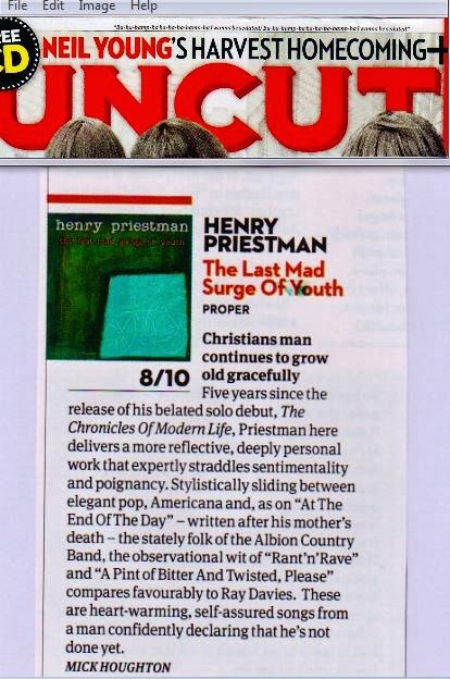 Uncut Magazine (8/10)